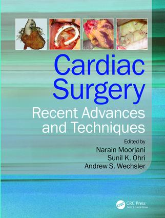 Cardiac Surgery: Recent Advances and Techniques, 1st Edition (e-Book) book cover