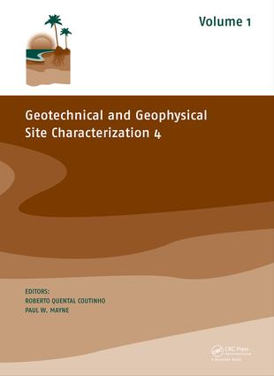 Geotechnical And Geophysical Site Characterization 4 Crc Press Book