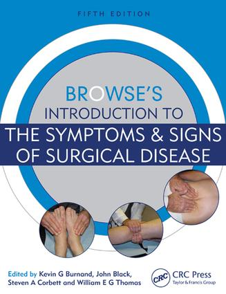 Browse's Introduction to the Symptoms & Signs of Surgical Disease: 5th Edition (e-Book) book cover