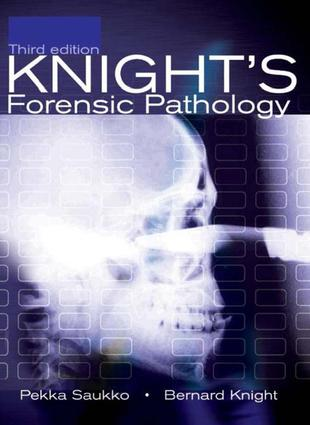 Knight's Forensic Pathology, 3Ed: 3rd Edition (e-Book) book cover