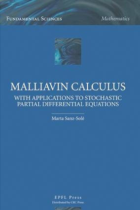 Malliavin Calculus with Applications to Stochastic Partial Differential Equations: 1st Edition (e-Book) book cover