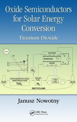 Oxide Semiconductors for Solar Energy Conversion: Titanium Dioxide, 1st Edition (e-Book) book cover