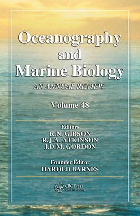 Oceanography and Marine Biology: An Annual Review, Volume 48, 1st Edition (e-Book) book cover