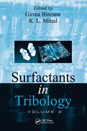 Surfactants in Tribology, Volume 2: 1st Edition (e-Book) book cover