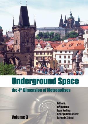 Underground Space - The 4th Dimension of Metropolises, Three Volume Set +CD-ROM: Proceedings of the World Tunnel Congress 2007 and 33rd ITA/AITES Annual General Assembly, Prague, May 2007, 1st Edition (e-Book) book cover