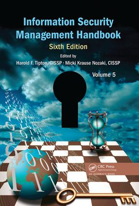 Information Security Management Handbook, Volume 5 book cover