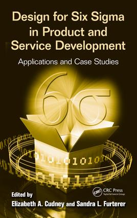 Design for Six Sigma in Product and Service Development: Applications and Case Studies, 1st Edition (e-Book) book cover