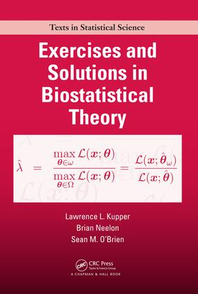 Exercises and Solutions in Biostatistical Theory: 1st Edition (e-Book) book cover