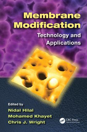 Membrane Modification: Technology and Applications, 1st Edition (e-Book) book cover