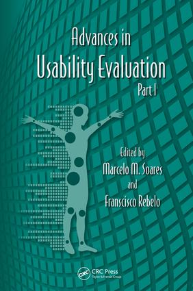 Advances in Usability Evaluation Part I: 1st Edition (e-Book) book cover