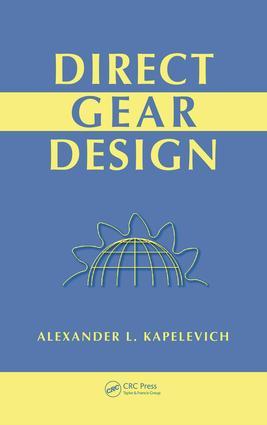 Direct Gear Design: 1st Edition (e-Book) book cover