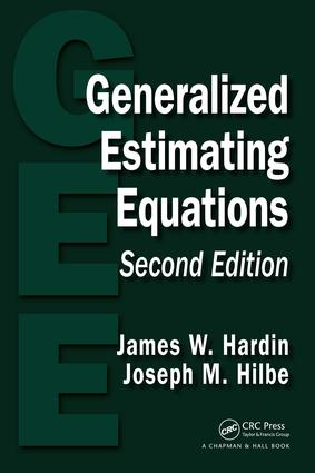 Generalized Estimating Equations: 2nd Edition (e-Book) book cover