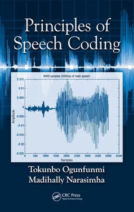 Principles of Speech Coding: 1st Edition (e-Book) book cover