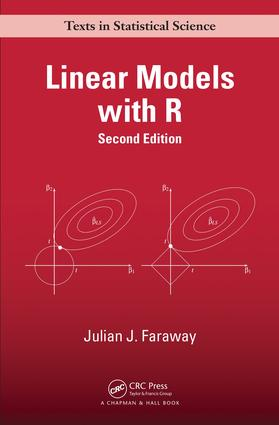 Linear models with r crc press book.