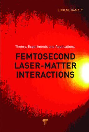 Applications of Ultra-Short Laser–Matter Interactions