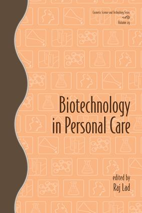 Biotechnology in Personal Care: 1st Edition (e-Book) book cover