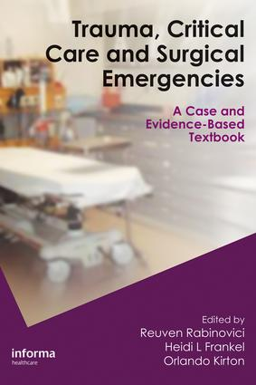 Trauma, Critical Care and Surgical Emergencies: 1st Edition (e-Book) book cover