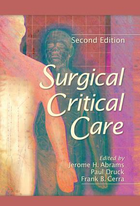 Surgical Critical Care: 2nd Edition (Hardback) book cover