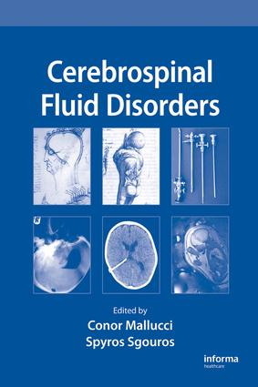 Cerebrospinal Fluid Disorders: 1st Edition (e-Book) book cover