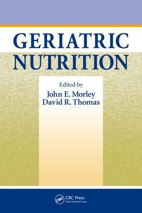 Geriatric Nutrition: 1st Edition (e-Book) book cover