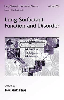 Lung Surfactant Function and Disorder book cover