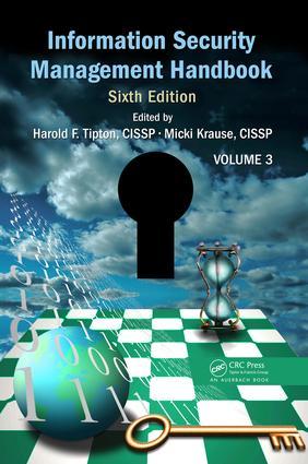 Information Security Management Handbook, Volume 3 book cover