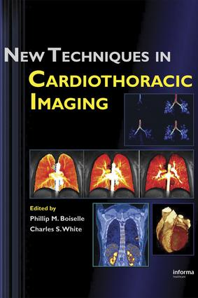 New Techniques in Cardiothoracic Imaging: 1st Edition (e-Book) book cover