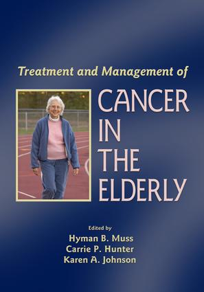 Treatment and Management of Cancer in the Elderly book cover
