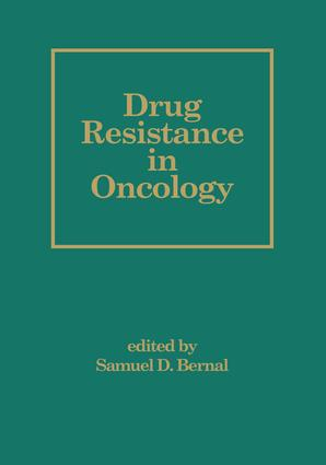 Drug Resistance in Oncology: 1st Edition (e-Book) book cover
