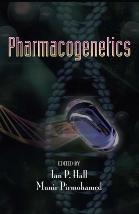 Pharmacogenetics: 1st Edition (Hardback) book cover