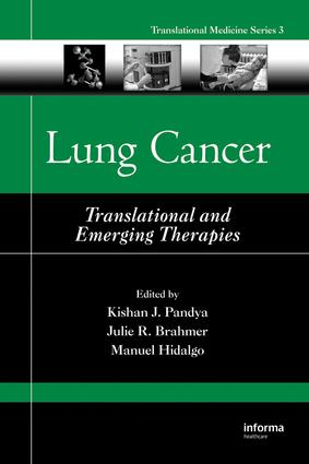 Lung Cancer: Translational and Emerging Therapies, 1st Edition (e-Book) book cover
