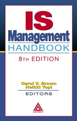 IS Management Handbook: 8th Edition (e-Book) book cover