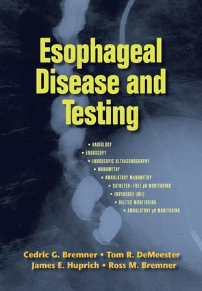 Esophageal Disease and Testing: 1st Edition (e-Book) book cover