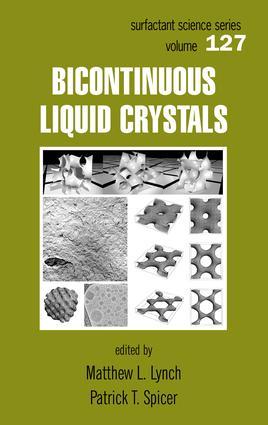 Bicontinuous Liquid Crystals: 1st Edition (e-Book) book cover
