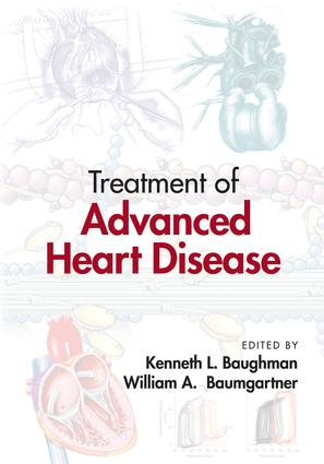 Treatment of Advanced Heart Disease book cover