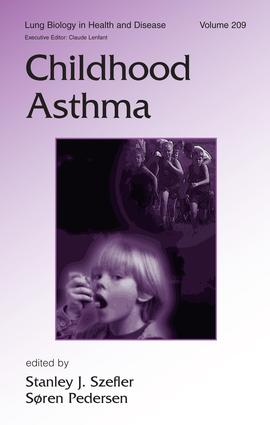 Childhood Asthma: 1st Edition (Hardback) book cover