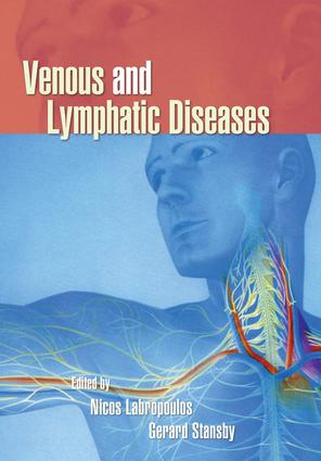 Venous and Lymphatic Diseases: 1st Edition (Hardback) book cover