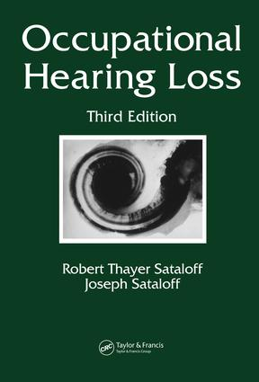 Occupational Hearing Loss: 3rd Edition (e-Book) book cover