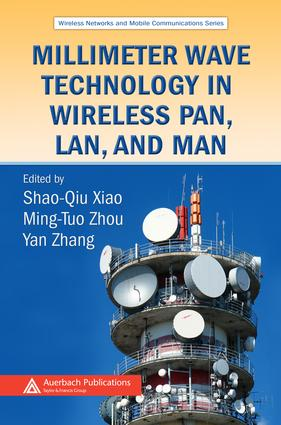 Millimeter Wave Technology in Wireless PAN, LAN, and MAN: 1st Edition (e-Book) book cover