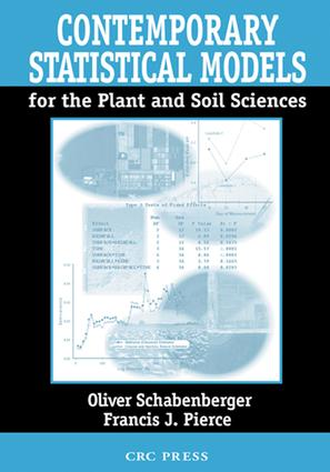 Contemporary Statistical Models for the Plant and Soil Sciences: 1st Edition (e-Book) book cover