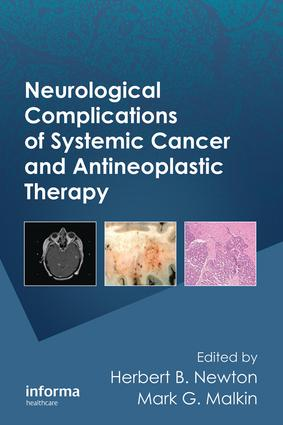 Neurological Complications of Systemic Cancer and Antineoplastic Therapy: 1st Edition (e-Book) book cover