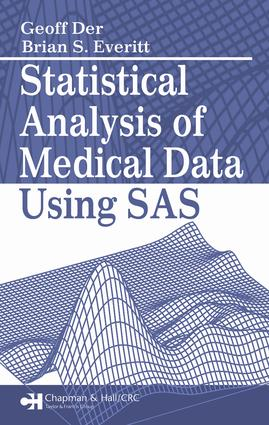Statistical Analysis of Medical Data Using SAS: 1st Edition (e-Book) book cover