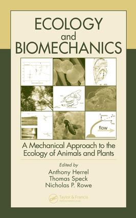 Ecology and Biomechanics: A Mechanical Approach to the Ecology of Animals and Plants, 1st Edition (e-Book) book cover