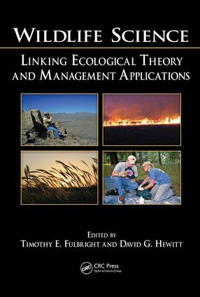 Wildlife Science: Linking Ecological Theory and Management Applications, 1st Edition (e-Book) book cover