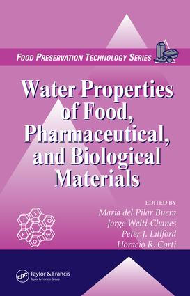 Water Properties of Food, Pharmaceutical, and Biological Materials