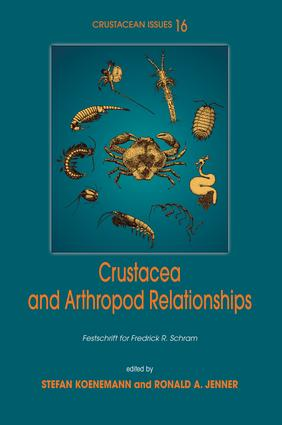 Crustacea and Arthropod Relationships: 1st Edition (e-Book) book cover