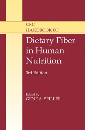 CRC Handbook of Dietary Fiber in Human Nutrition: 3rd Edition (e-Book) book cover