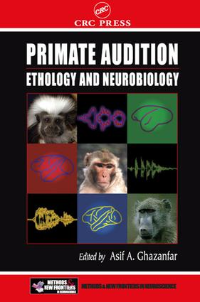 Primate Audition: Ethology and Neurobiology, 1st Edition (e-Book) book cover