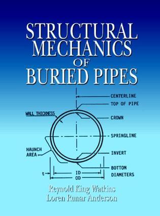"Anderson, Loren Runar et al ""RISERS "" Structural Mechanics of Buried Pipes Boca Raton: CRC Press LLC,2000"