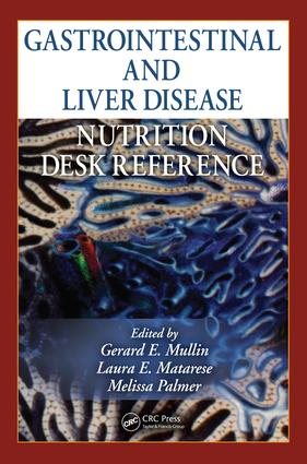 Gastrointestinal and Liver Disease Nutrition Desk Reference: 1st Edition (e-Book) book cover